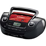 Rádio Boombox NBX-11 , Entradas USB e Auxiliar, Rádio FM, MP3 Player, Display Digital, 3.4W RMS - Mondial