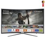 Smart TV LED 49' Samsung UN49K6500 Tela Curva Full HD com Wi-Fi 2 USB 3 HDMI Gamefly Motion Rate e 60Hz