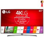 Smart TV LED 65' LG 65UJ6585 4K Ultra HD HDR com Wi-Fi 2 USB 4 HDMI DTV IPS e 120Hz
