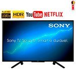 Smart TV LED 50' Sony KDL-50W665F Full HD HDR com Wi-Fi 2 USB, 2 HDMI, Motionflow XR 240, X-Protection PRO, X-Reality PRO