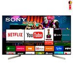 Smart TV LED 75' Sony  XBR-75X905F 4K HDR com Android, Wi-Fi, 3 USB, 4 HDMI, X-Ttended Dynamic, Controle com Comando de Voz