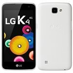 Smartphone LG K4, Dual Chip, Branco, Tela 4.5', 4G+WiFi, Android 5.1, 5MP, 8GB