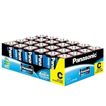 Pilha Super Hyper Média C Com 24 Unid 2sh Panasonic
